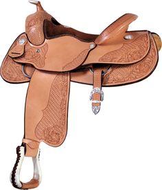 Billy Cook Millennium Reiner Saddle   ChickSaddlery.com