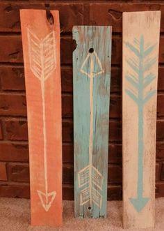 Handmade Arrow Decor