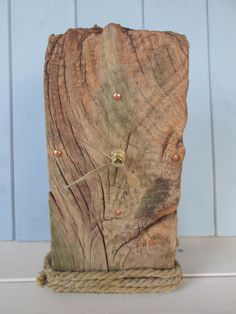 Freestanding+Oak+Driftwood+Clock £20.00