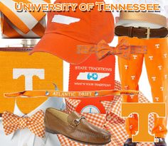 University of Tennessee tailgating attire