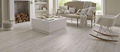 Karndean White Washed Oak floor - vinyl plank