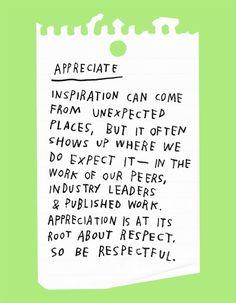 The Difference Between Inspiration & Imitation   Design*Sponge   Bloglovin'