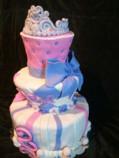 Made by LaKeisha Keck with Sweet Tooth Mother and Daughter cakes