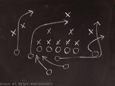 Chalkboard Football Play 8x10 Photographic Print, Boys Room decor, Boys Nursery Ideas, Vintage Sports, Football prints,. $20.00, via Etsy.