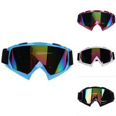 Bike Racing Glasses Bike Riding Ati-Wind Glass Snowboard Anti-UV Goggle Ati-fog Ski Skiing Goggles Unisex Motorcycle Eyewear