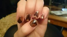 Pheasant feather nails