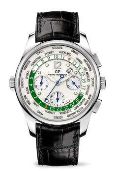 ❦  Girard-Perregaux ww.tc Chronograph for Green Auction watch***