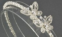 Butterfly Crystal and Diamante Wedding Headband