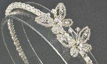 Butterfly Crystal and Diamante Wedding Headband