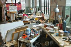 Well, why don't you visit the studio of Anna Schuleit?   well why don't you…?