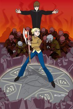 Buffy Summers vs Caleb #btvs Buffy the Vampire Slayer