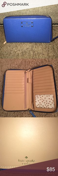 Kate Spade travel wallet Kate Spade original only used briefly but love it! EUC kate spade Bags Wallets