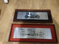 Original Hand Produced on Stainless Steel, one is a 60 HP 1905 Napier, the other is a 20 HP 1908 Lanchester, both signed by Kieth Tovey. Both are in good Condition with some wear on the frames and rear, also slight scratches on the plates, but all in all some really nice pictures. | eBay!