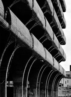 Parking Garage for the City of New Haven, Connecticut, 1959-63  (Paul Rudolph)