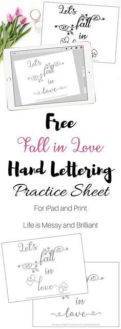 2196 Best Free Hand Lettering & iPad Lettering ♡ images in