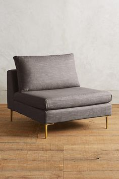 Slide View: 1: Belgian Linen Edlyn Chair