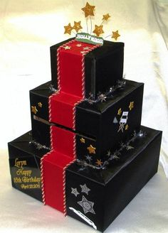 hollywood theme card box - Google Search: