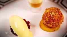 Le camembert en trois textures et trois températures : http://www.cuisineaz.com/recettes/le-camembert-en-trois-textures-et-trois-temperatures-85703.aspx