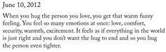 perfect hugs <3