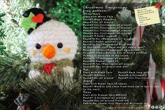 Amigurumi Food: Christmas Amigurumi Free Pattern!