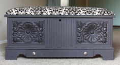 Before my husband and I were married, I was given this hope chest by a very dear friend. It was moved around here and there until we got m...
