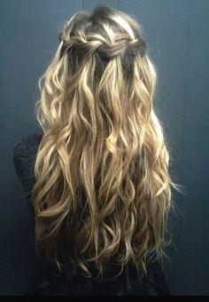 Easy tussled hair ❤️
