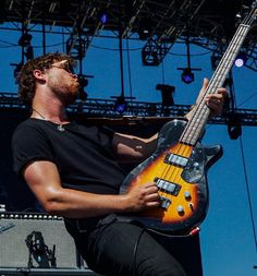 """shes-thunderstorms: """" Mike Kerr, Royal Blood - Coachella 2015 Cos, I felt this picture needed its own post. Michael Kerr, Mike Kerr, Royal Blood, Thunderstorms, Music Love, Baby Daddy, Coachella, Handsome, Photoshoot"""