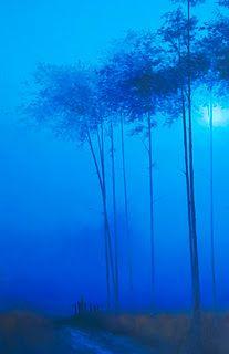 """""""Blue Mood"""" by Gerald Schwartz"""