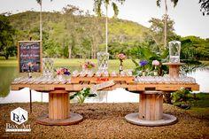 Mesa de dulces vintage una hermosa idea!!!!