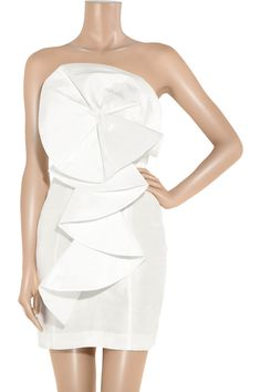 Oragami mini by Rachel Gilbert #reception #dress