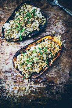 Baked Eggplant with Sesame Yoghurt Sauce Recipe
