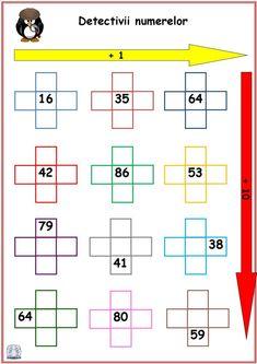 Numerele până la 100 - Detectivii numerelor 2nd Grade Math Worksheets, Summer School, Sight Words, First Grade, Homeschool, Schools, Bee, Gardening, Secondary School