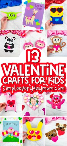 Holiday Activities, Craft Activities, Preschool Crafts, Preschool Kindergarten, Valentine's Day Crafts For Kids, Toddler Crafts, Art For Kids, Toddler Preschool, Valentine Crafts For Kids