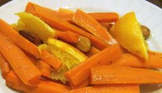 Carrots are a great source of beta-carotene, but all too often they're just plain boring. These carrots are a refreshing change, and because they're baked, they're nutrients won't leach into cooking water.