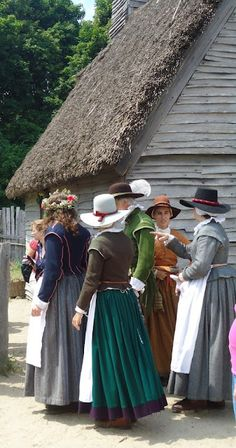 Late 16th/early 17th century, probably either at Jamestown or Plymouth.