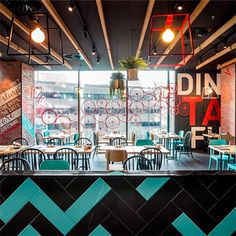 Design Clarity - Liberate your Space! Deli Cafe, Cafe Restaurant, Restaurant Design, Commercial Design, Commercial Interiors, Cafe Interior, Interior And Exterior, Coffee Shop Bar, Coffee Shops