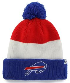 Show off your super-fan pride all winter long with this cozy NFL Men's Gameday Reversible Knit Hat!