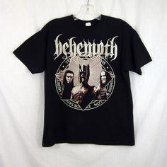 Behemoth Evangelia Amerika 2010 E.V. Tour T-Shirt Death Metal Large | eBay