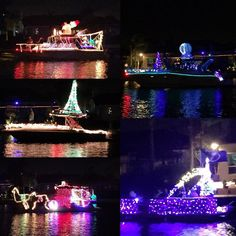 #neighborhood #christmas and #holiday #boat parade!  Love our 'hood!  The @tblightning even got some love with a #bolts boat #bayport #bayside #tamparealestatev#waterfront #tamparealestate #besttamparealtors #remax #theduncanduo #tamparealestate