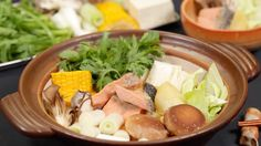 Ishikari Nabe (Salmon Hot Pot) Recipe 石狩鍋 レシピ 作り方