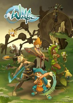 Wakfu (2010): This is a French animated series by Ankama, based on an MMORPG by the same name.  Pretty cool anime-inspired action sequences and humor. J'adore ♥ Ce DA est très divertissant. J'aime l'humour subtil et bien Français, les personnages, le dessin, la musique... bref tout ! ♥