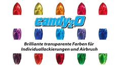Candy Airbrush Farbe | Auto Air Color - https://www.createx-shop.com/airbrushfarben-und-lacke/autoair-colors/candy2o/