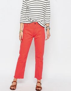 ASOS Florence Authentic Straight Leg Jean - £32.00