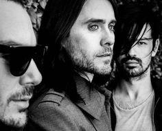 30 Seconds to Mars, Shannon Leto, Jared Leto, Tomo Miličević, best band ever ! ♥