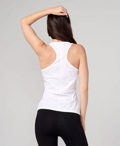 1df75852d0bd7 Pact Sustainable Clothing, Sustainable Fashion, Yoga Wear, Ethical Fashion,  Racerback Tank,