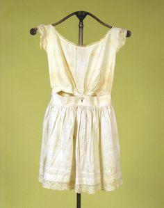 Girl's White Combination Underwear, Mid 19th C