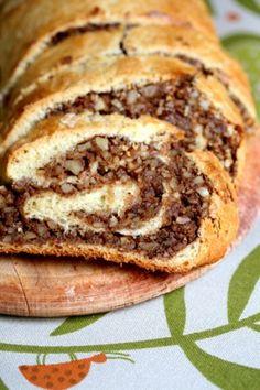 Food Design, Hungarian Recipes, Hungarian Food, Hungarian Nut Roll Recipe, Croatian Recipes, Hungarian Cookies, Hungarian Cake, Lithuanian Recipes, Ukrainian Food