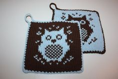 Pot Holders, Diy And Crafts, Knitwear, Dessert, Baby, Hot Pads, Tricot, Potholders, Deserts