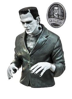 Creature from the Black Lagoon 168249: Universal Monsters Bandw Frankenstein Bust Bank -> BUY IT NOW ONLY: $43.84 on eBay!