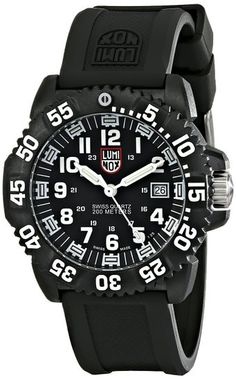 Luminox Men s 3051 EVO Navy SEAL Colormark Watch Perfect for low-light or  no-light situations e61fe200dd